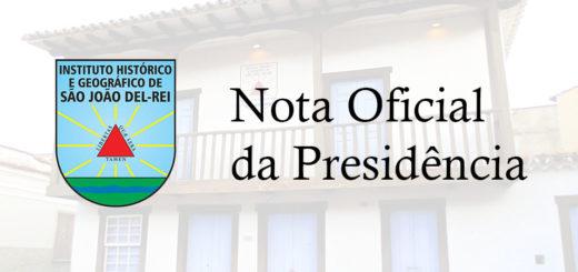 Nota Oficial da Presidência